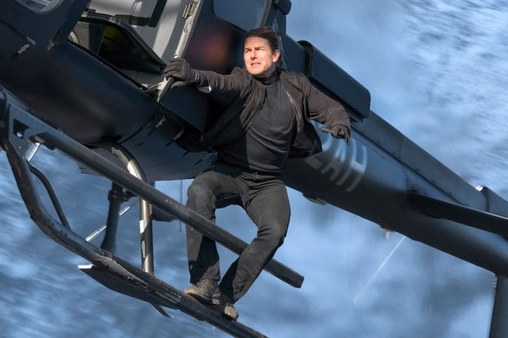 Tom Cruise as Ethan Hunt