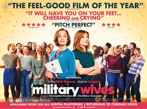 military-wives-british-movie-poster