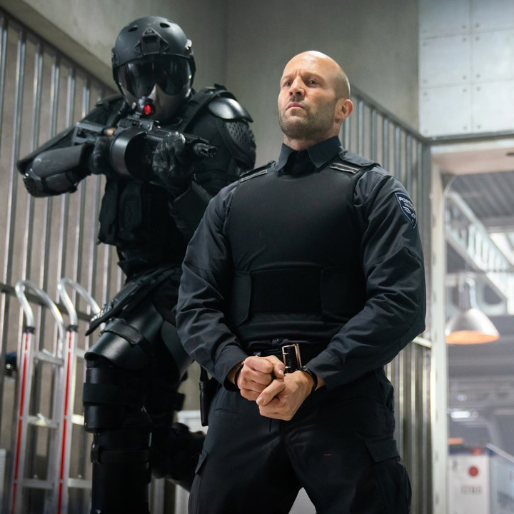 Jason Statham appears in Wrath of Man.